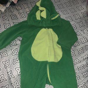 12 months lizard 🦎 costume !!